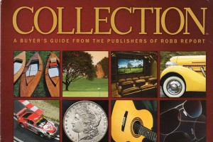 GALT Robb Report Collections Cover