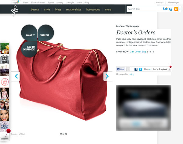 MSN Lifestyle | Glo - Lust Worthy Luggage - GALT RED DOCTOR